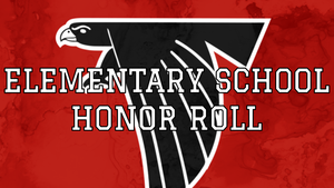 Elementary School Honor Roll - 1st Quarter 2020