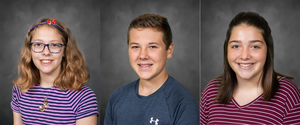 May 2020 Middle School Students of the Month
