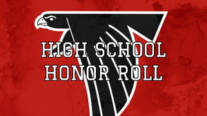 High School Honor Roll - 1st Quarter 2020-2021